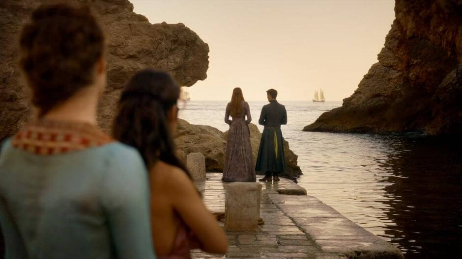 King's Landing harbor