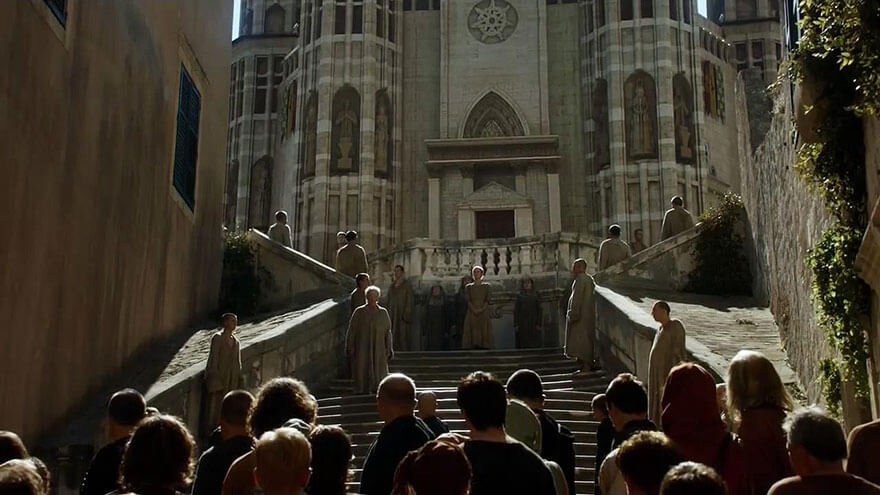 Cersei's naked Walk of Shame